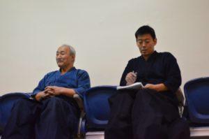 Toda Tadao sensei and Masahiro Imafuji